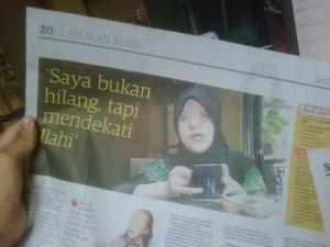 akhbar utusan Siti Musliha